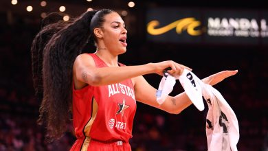 Photo of Liz Cambage: Las Vegas Aces star to miss season due to COVID-19 risk
