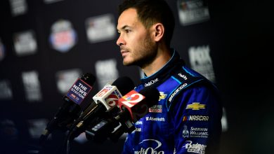 Photo of Driver Kyle Larson Suspended After Using Racial Slur