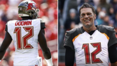 Photo of Chris Godwin on Tom Brady Joining Buccaneers: Sky's the Limit