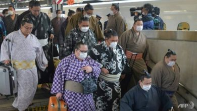 Photo of COVID-19 blow for Japan's sumo as wrestler tests positive
