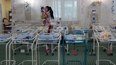 Photo of 100 Babies Stranded in Ukraine After Surrogate Births