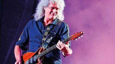 Photo of Queen's Brian May hospitalised for 'over-enthusiastic gardening'