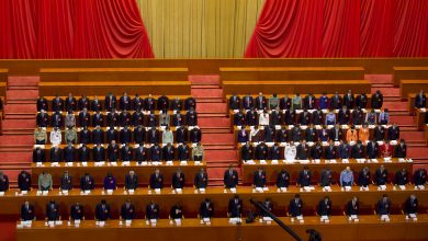 Photo of Xi Addresses China's National People's Congress