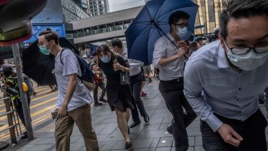 Photo of Protesters in Hong Kong Rally Against China's Tightening Grip