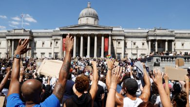 Photo of Londoners Join in Protests Against Police Brutality