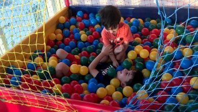 Photo of Brazil coronavirus: Locked-down families rent trampolines, ball pits