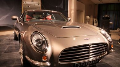 Photo of James Bond's car comes to life, but no ejector seat here