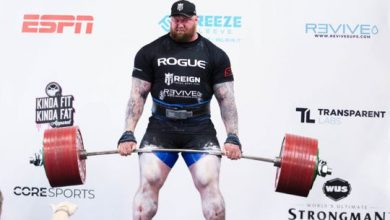 Photo of 'Game of Thrones' actor sets deadlift record