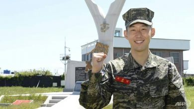 Photo of Football: Spurs hotshot Son Heung-min earns military accolade