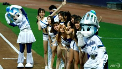 Photo of Play ball: Taiwan baseball fans return to the stands
