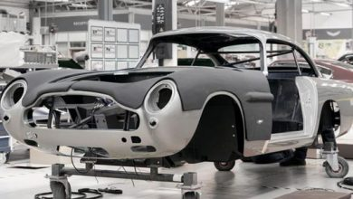 Photo of Aston Martin DB5 back in production after 55 years!