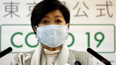 Photo of Tokyo governor Koike to ask businesses to refrain from operating until end of May: Report
