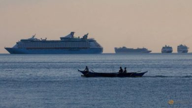 Photo of 'We feel like guests': More than 5,000 Filipino seafarers from abandoned cruises wait out quarantine in Manila Bay