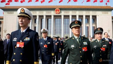 Photo of China's military budget growth slows to 6.6%