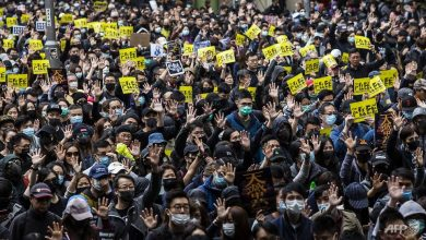 Photo of China says Hong Kong will never be calm unless violent protesters removed