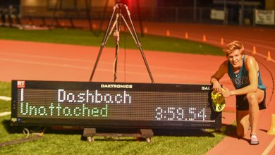 Photo of How Leo Daschbach became the 11th high school boy to break the four-minute mile barrier