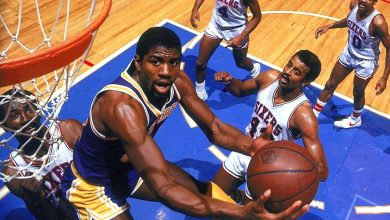 Photo of Magic Johnson made NBA Finals debut on this day in sports history