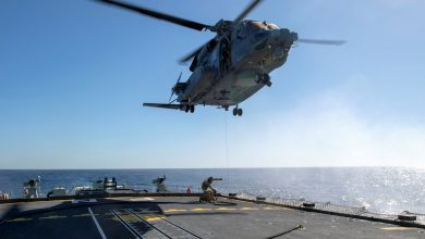 Photo of One Dead and 5 Missing After Canadian Military Helicopter Crashes off Greece