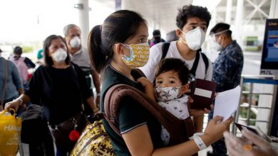 Photo of 'Finally free': Homebound Filipinos cheer end to COVID-19 quarantine ordeal