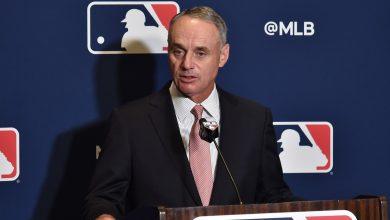 Photo of MLB commissioner Rob Manfred 'hopeful' 2020 season will happen