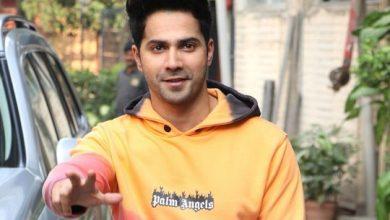 Photo of Varun Dhawan misses being on set