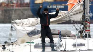 Photo of With Flights Banned, Son Sails Solo Across Atlantic to Reach Father, 90