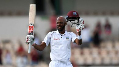 Photo of Roston Chase: 'Won't be happy if I don't get at least one century'