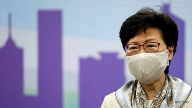 Photo of Hong Kong chief Carrie Lam says opponents of security law are 'enemy of the people'