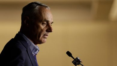 Photo of As Baseball Teeters, Rob Manfred's Words Ring Hollow