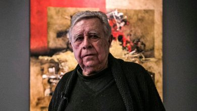 Photo of Manuel Felguérez, Mexican Abstract Artist, Is Dead at 91