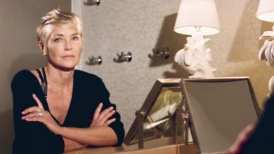 Photo of Sharon Stone on how she rebuilt her life after a stroke