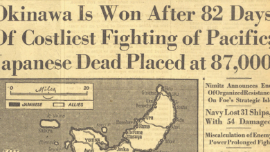 Photo of 1945: The Battle of Okinawa Ends
