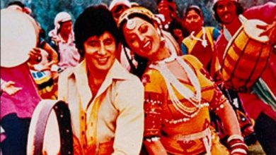 Photo of Amitabh Bachchan revisits 'Mr Natwarlal' after 41 years