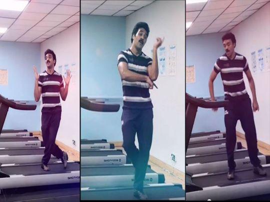 Ashwin Kkumar in his viral video