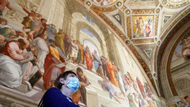 Photo of Vatican Museums: Visitors tour Rome's newly reopened landmark