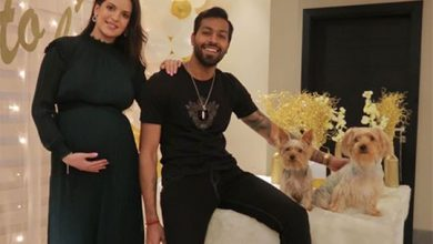 Photo of Hardik Pandya goes social with cute Baby shower picture on Instagram