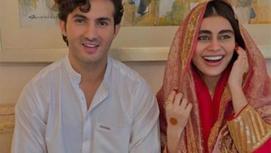Photo of Pakistan: Shahroz Sabzwari marries Sadaf Kanwal months after divorce with Syra Yousuf, pictures spark controversy online