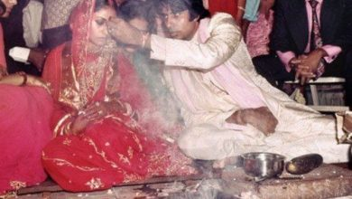 Photo of Amitabh Bachchan celebrates 47 years of marriage to Jaya