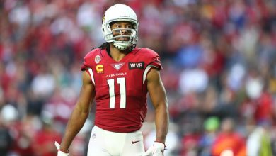 Photo of Larry Fitzgerald on George Floyd protests: 'This is not the Minneapolis of my youth'