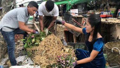 Photo of Trash is treasure as Myanmar environmentalist turns food scraps into fertiliser