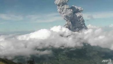 Photo of Indonesia's Mount Merapi erupts, spewing ash 6km high