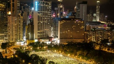 Photo of Thousands in Hong Kong Defy Ban to Attend Tiananmen Vigil