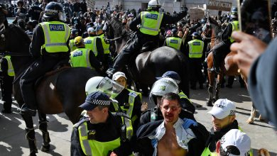 Photo of Far-Right Groups Stage Counterprotest in London
