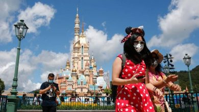 Photo of Hong Kong's Disneyland reopens after five-month COVID-19 break