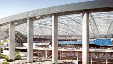 Photo of SoFi Stadium construction worker dies after fall from roof