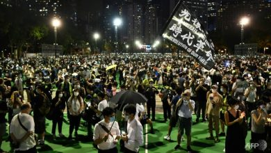 Photo of Hong Kong seethes one year on, but protesters on the back foot