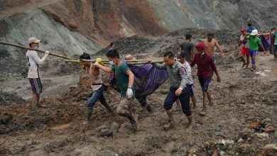 Photo of Video Shows Myanmar Jade Mine Collapse