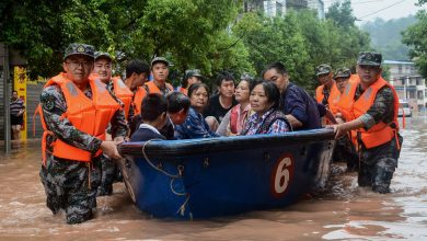 Photo of Severe Floods in China Leave Over 106 Dead or Missing
