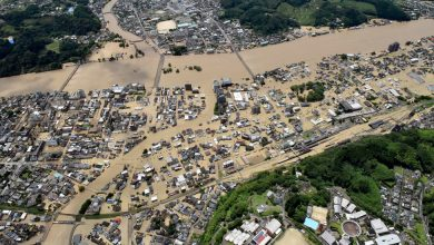 Photo of Severe Flooding in Southern Japan Swamps Nursing Home