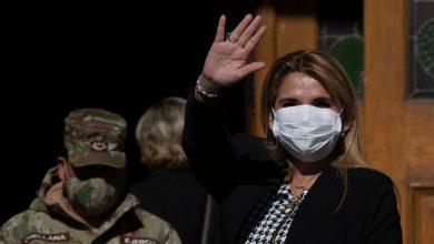 Photo of Bolivia President, Jeanine Añez, Tests Positive for Coronavirus